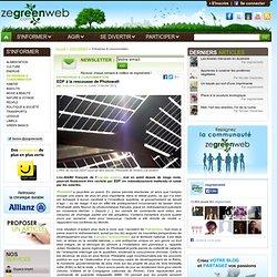 EDF à la rescousse de Photowatt