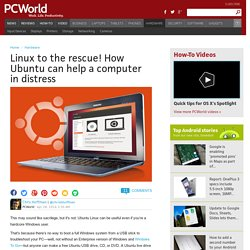 ▶ Linux to the rescue! How Ubuntu can help a computer in distress