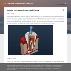 Rescuing Oral Health With Root Canal Therapy