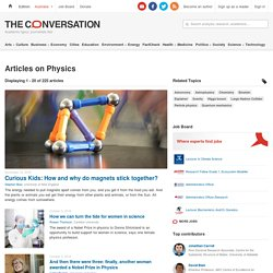 Physics – News, Research and Analysis – The Conversation – page 1