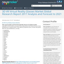 3D VR Virtual Reality Glasses Market Global Research Report 2017 Analysis and Forecast to 2021