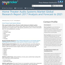 Home Theater Audio Systems Market Global Research Report 2017 Analysis and Forecast to 2021