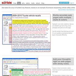 smarter online research - annotate, organize & collaborate on web pages