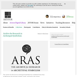 Archive for Research in Archetypal Symbolism