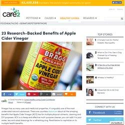 23 Research-Backed Benefits of Apple Cider Vinegar