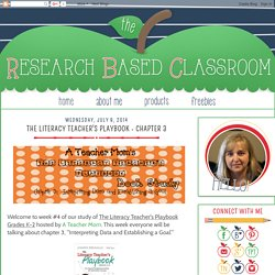 The Research Based Classroom: The Literacy Teacher's Playbook - Chapter 3