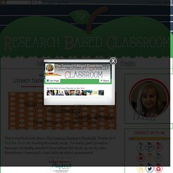 The Research Based Classroom: Literacy Teacher's Playbook - Final Thoughts & Reflections