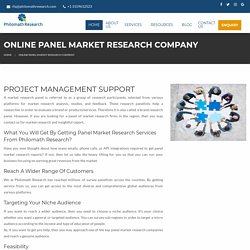 Online Panel Market Research Company