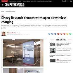 Disney Research demonstrates open-air wireless charging