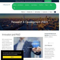 Innovation and R&D - Alliance International