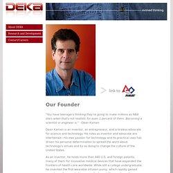 Deka Research & Development - About DEKA - Dean Kamen Founder