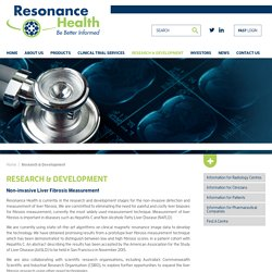 Research & Development - Resonance Health