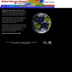 Global Climate Change: Research Explorer- The Exploratorium