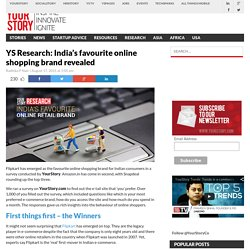 YS Research: India's favourite online shopping brand revealed