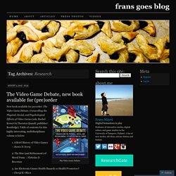 frans goes blog