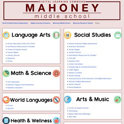 Home - Mahoney Research Guides - Digital Learning Commons at South Portland High School