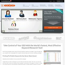 Keyword Research Tool & SEO Management Software - SECockpit