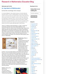 Research in Mathematics Education Blog: April 2014