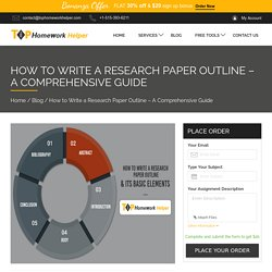 How to Write a Research Paper Outline – A Comprehensive Guide