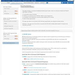 Other Calls - Research Participant Portal