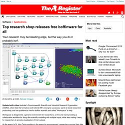 Australia's peak research body releases free boffinware for all