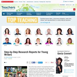 Step-by-Step Research Reports for Young Writers