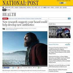 Your beard could help develop new antibiotics