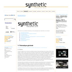 Research « Synthetic