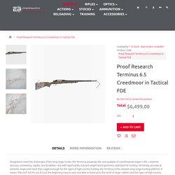 Proof Research Terminus 6.5 Creedmoor in Tactical FD
