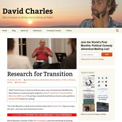 Research for Transition to the Commons Society