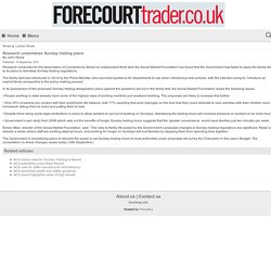 Research undermines Sunday trading plans - Forecourt Trader