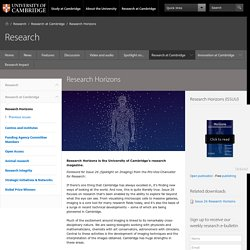 Research Horizons