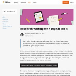 Research Writing with Digital Tools – ESL Library Blog