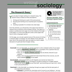 welcome sociology team essential standards online sociology ...