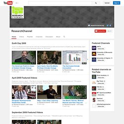 ResearchChannel's Channel