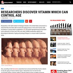 Researchers Discover Vitamin Which Can Control Age