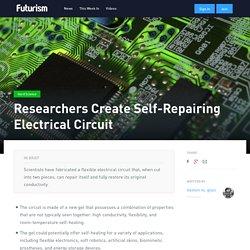Researchers Create Self-Repairing Electrical Circuit