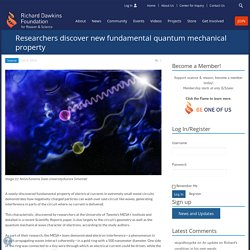 Researchers discover new fundamental quantum mechanical property