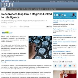Researchers Map Brain Regions Linked to Intelligence