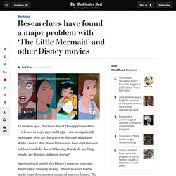 Researchers have found a major problem with 'The Little Mermaid' and other Disney movies