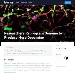 Researchers Reprogram Genome to Produce More Dopamine