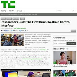 Researchers Build The First Brain-To-Brain Control Interface