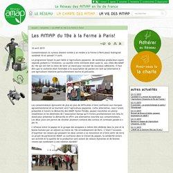 Réseau AMAP Ile-de-France