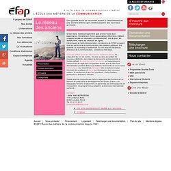 Le réseau des anciens - EFAP L'école des métiers de la communication -