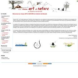 réseau ART & NATURE Ardèche méridionale