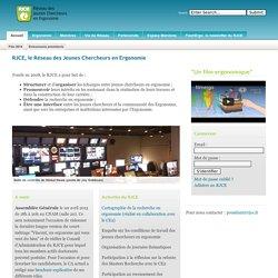 RJCE - le Réseau des Jeunes Chercheurs en Ergonomie - Le Réseau des Jeunes Chercheurs en Ergonomie