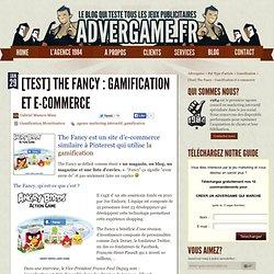 The Fancy Réseau Social e-commerce teinté de gamification