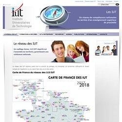 IUT - un réseau de compétences nationales