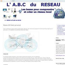 Les bases pour comprendre et créer un réseau local: Réseau Wifi Mesh personnel