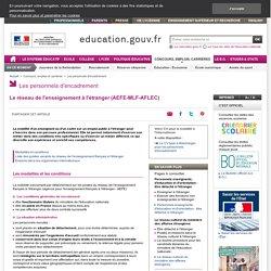Le réseau de l'enseignement à l'étranger (AEFE-MLF-AFLEC)